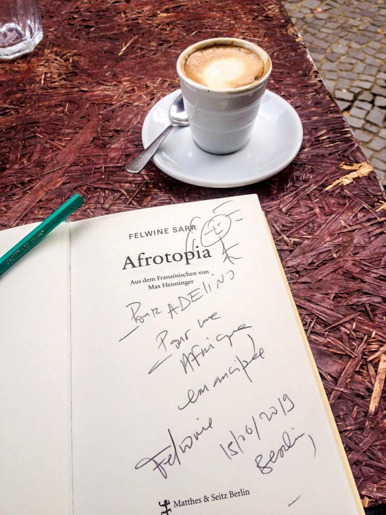 Afrotopia de l'écrivain et économiste Felwine Sarr